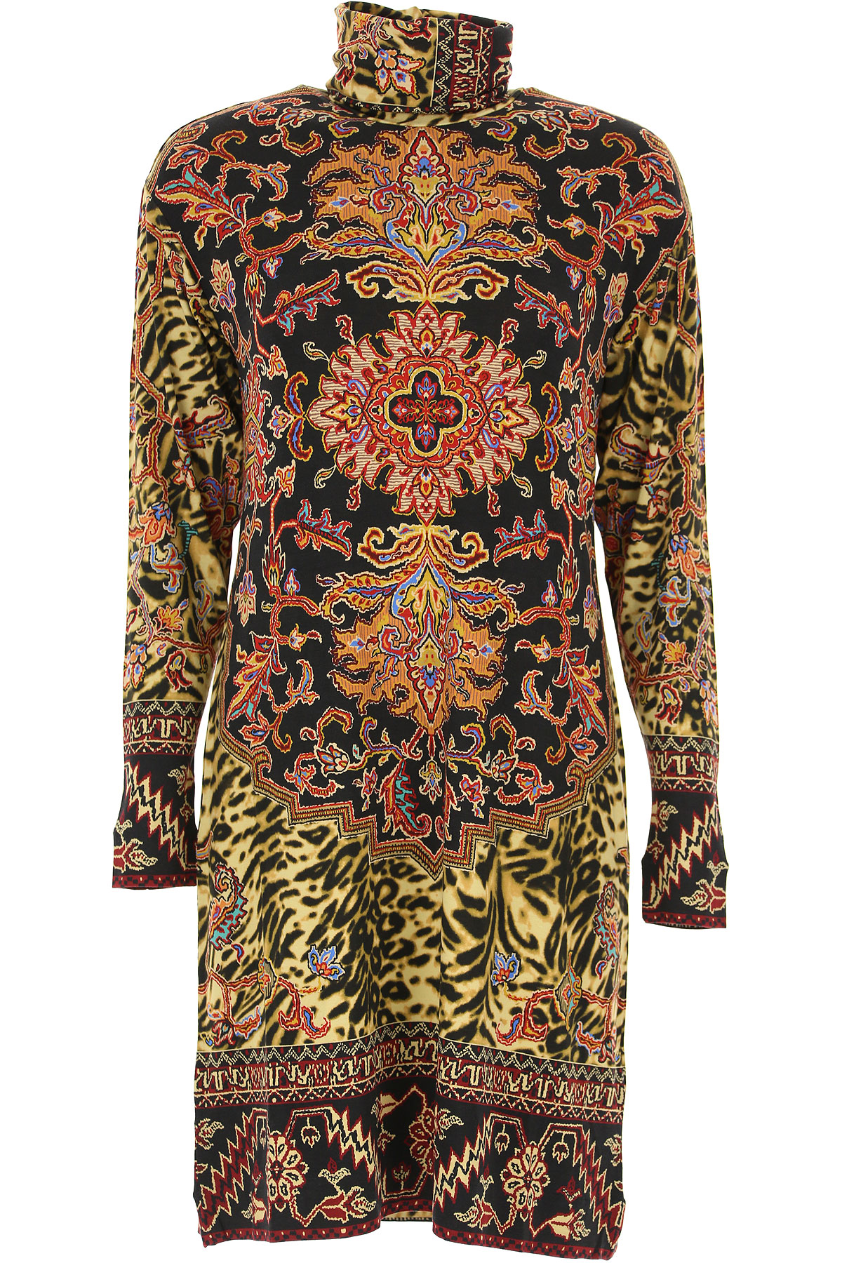 Etro Dress for Women, Evening Cocktail Party On Sale, Multicolor, viscosa, 2019, 6 8