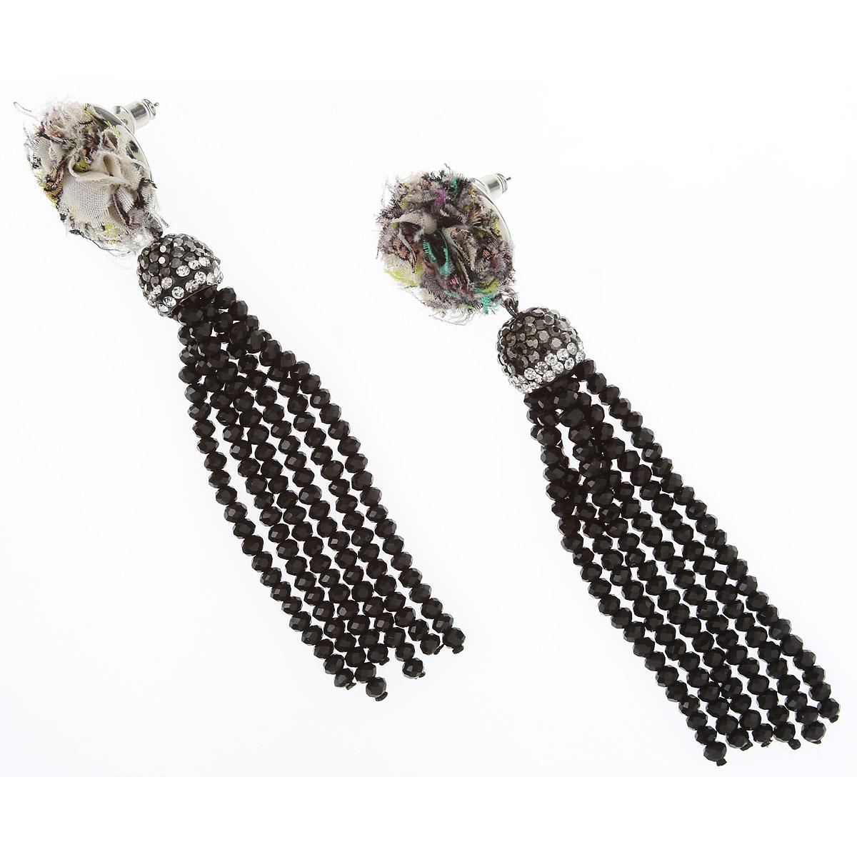 Etro Earrings for Women On Sale, Black, Glass, 2019