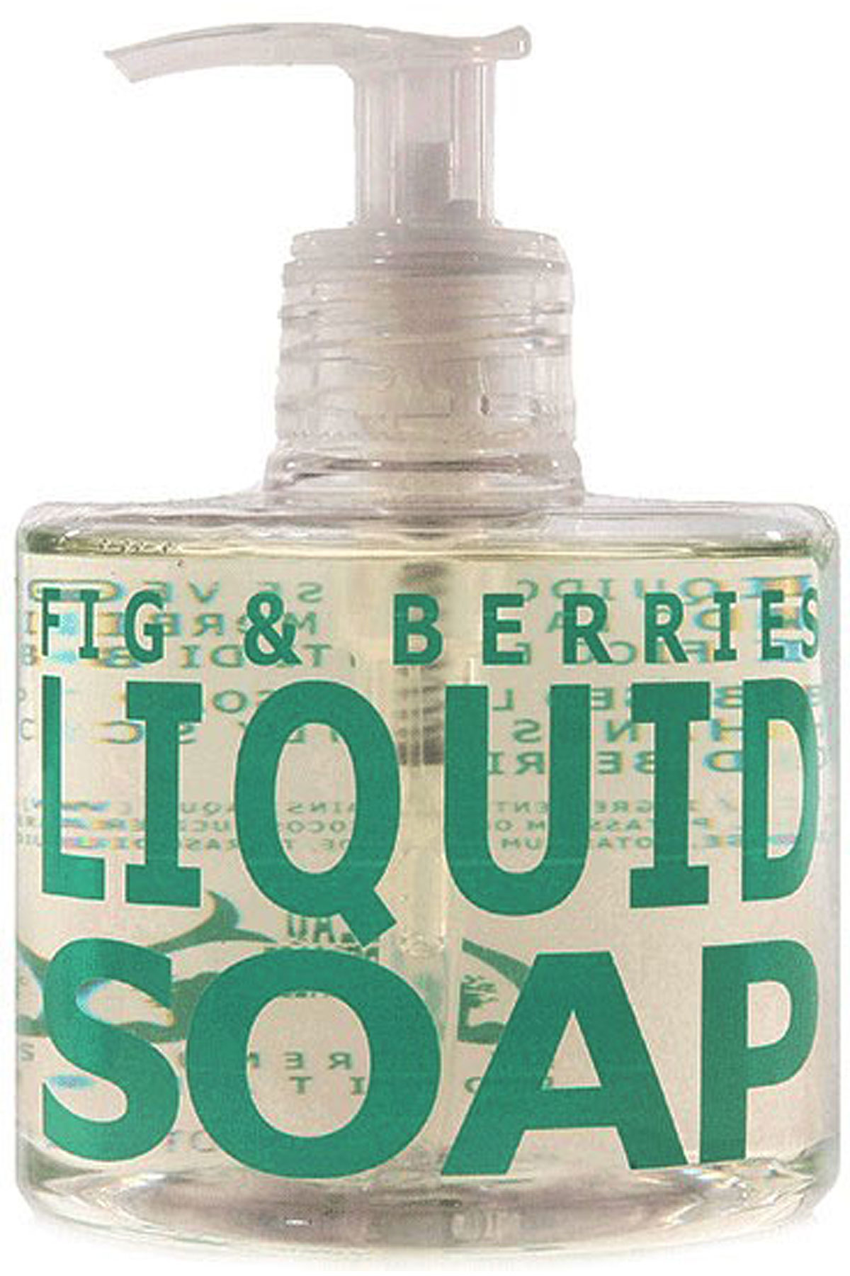 Eau D Italie Beauty for Men, Fig And Berries - Liquid Soap - 300 Ml, 2019, 300 ml