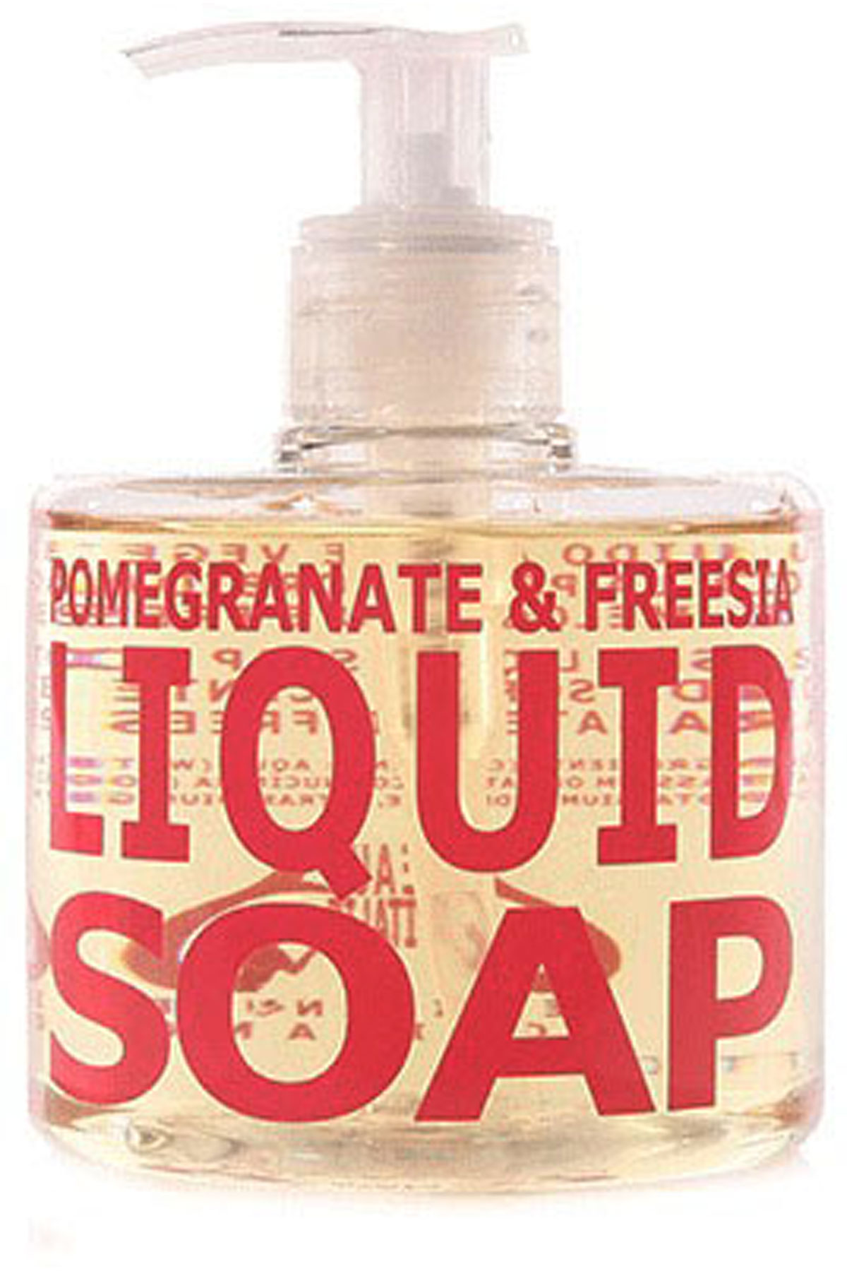 Eau D Italie Beauty for Men, Pomegranate And Freesia - Liquid Soap - 300 Ml, 2019, 300 ml