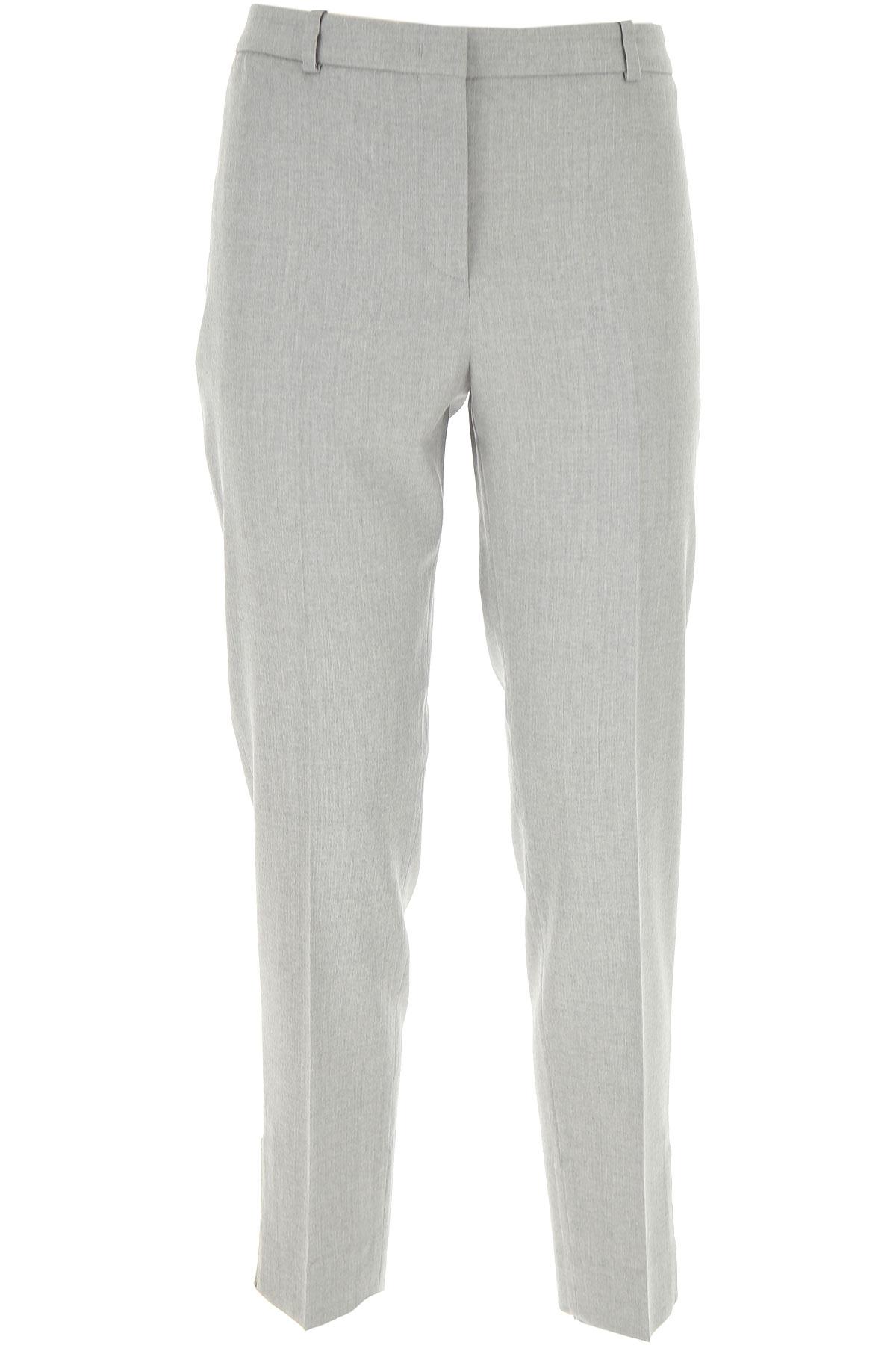 Fabiana Filippi Pants for Women On Sale, Light Grey, Virgin wool, 2019, 26 28 30