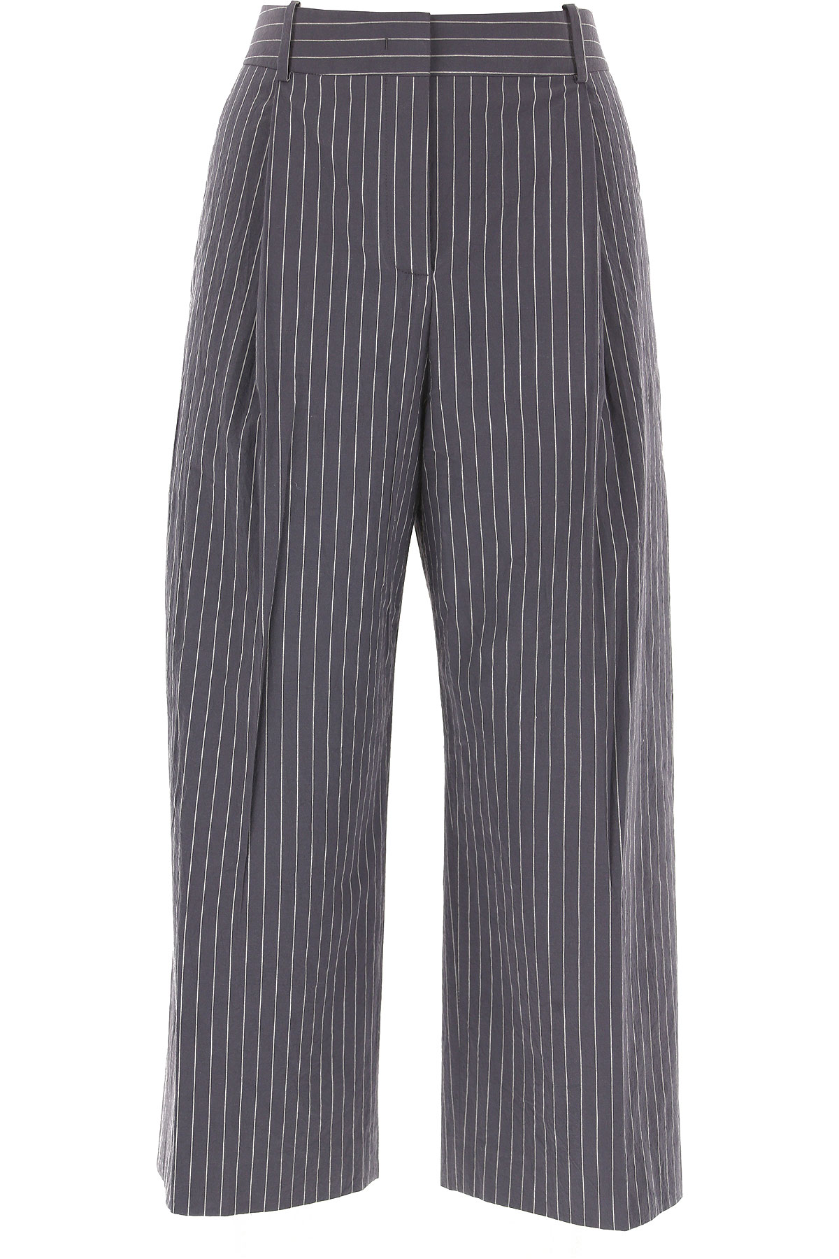 Fabiana Filippi Pants for Women On Sale in Outlet, Grey, Cotton, 2019, 26 28 30 32