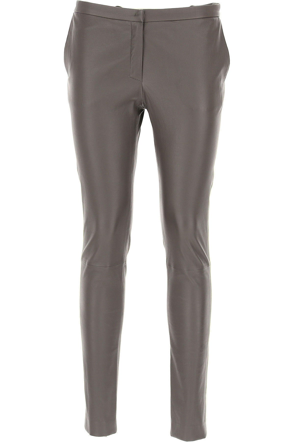Image of Fabiana Filippi Pants for Women, Brown, Leather, 2017, 24 26 27 28 29