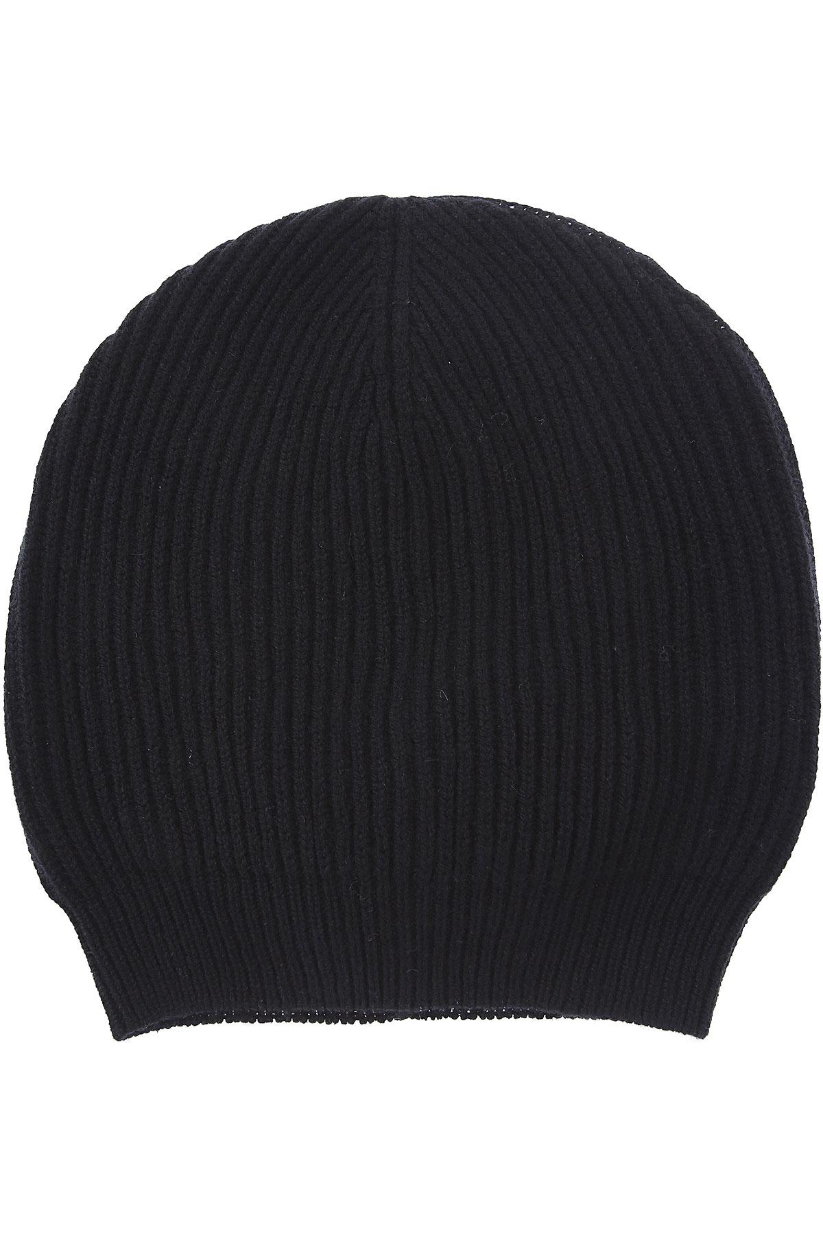 Fabiana Filippi Hat for Women On Sale, Black, Wool, 2019