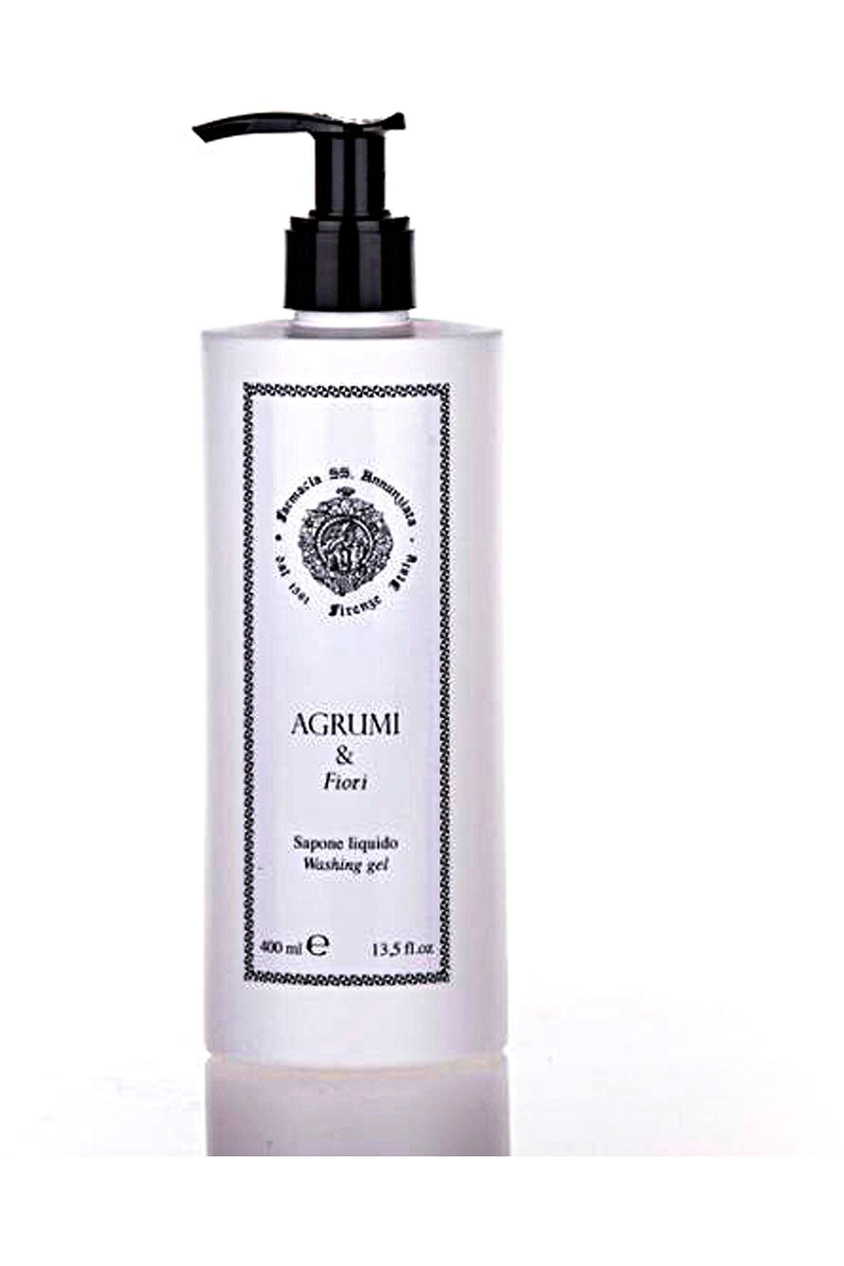 Farmacia Ss Annunziata 1561 Beauty for Men On Sale, Agrumi E Fiori - Liquid Soap - 400 Ml, 2019, 400 ml