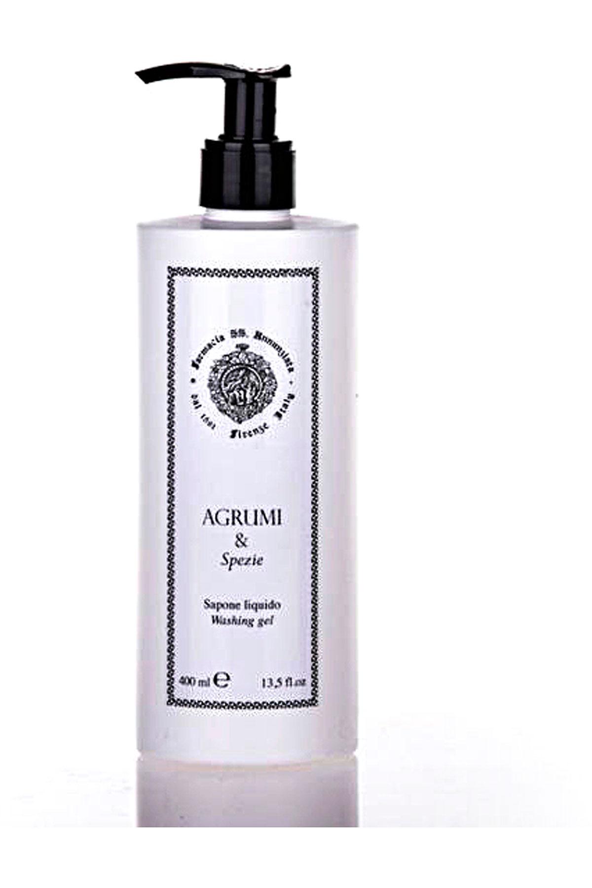 Farmacia Ss Annunziata 1561 Beauty for Women On Sale, Agrumi E Spezie - Liquid Soap - 400 Ml, 2019, 400 ml