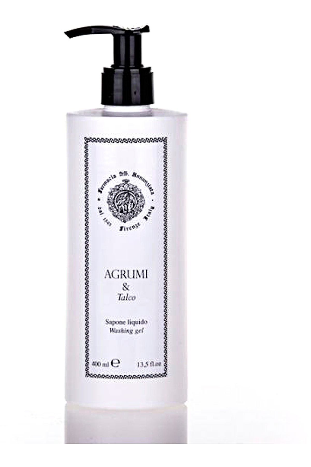 Farmacia Ss Annunziata 1561 Beauty for Women On Sale, Agrumi E Talco - Liquid Soap - 400 Ml, 2019, 400 ml