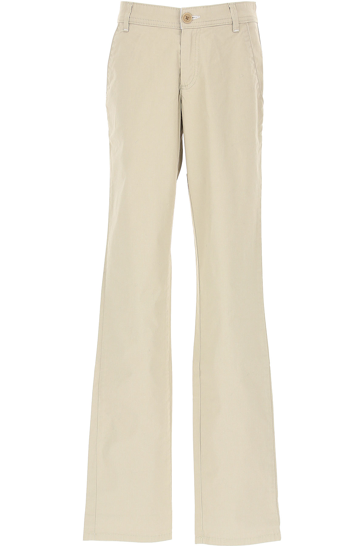 Fay Kids Pants for Boys On Sale in Outlet, Beige, Cotton, 2019, 12Y 13Y