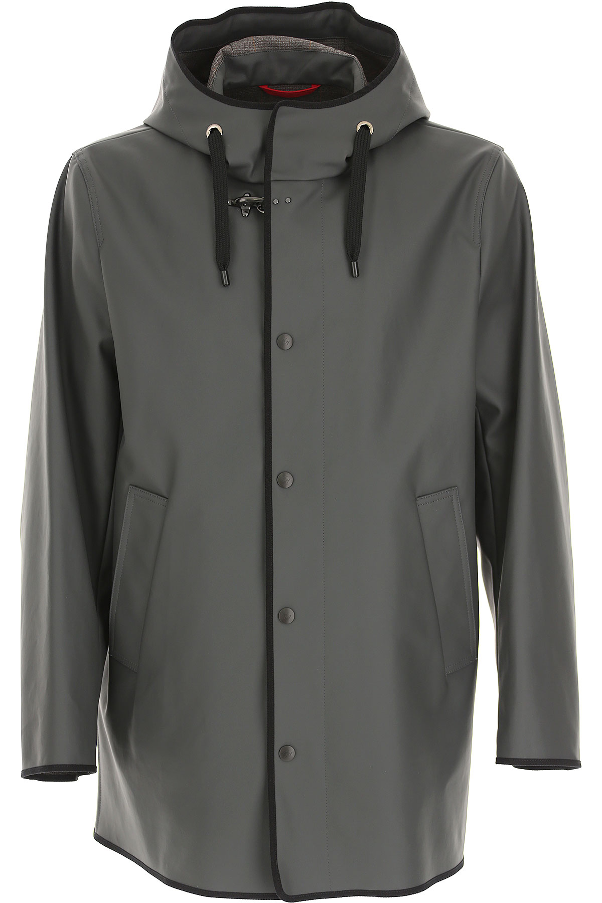 Fay Jacket for Men On Sale, dark stone grey, Cotton, 2019, L M XL