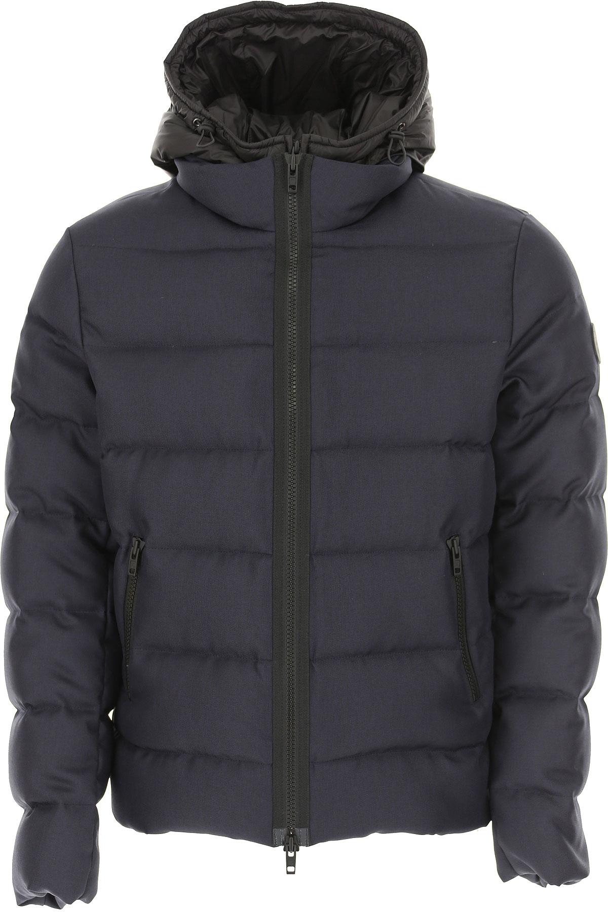 Fay Down Jacket for Men, Puffer Ski Jacket, Blue Ink, polyamide, 2019, L M XL XXL XXXL