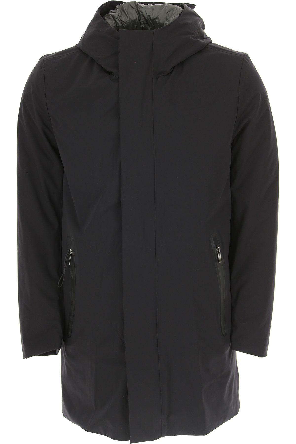 Image of Fay Down Jacket for Men, Puffer Ski Jacket, Black, polyamide, 2017, L M