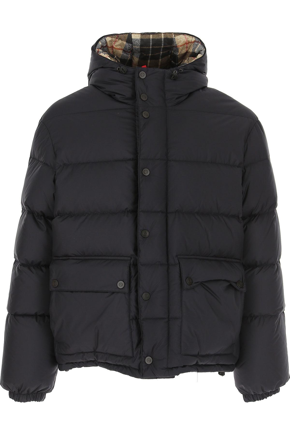 Fay Down Jacket for Men, Puffer Ski Jacket On Sale, Ink Blue, polyamide, 2019, L M XL