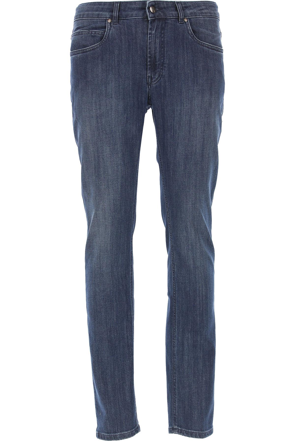 Fay Jeans On Sale, Denim Blue, Cotton, 2019, 34 35