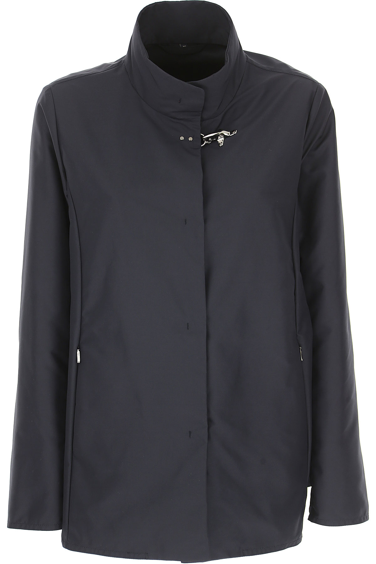 Fay Jacket for Women On Sale, Navy Blue, polyester, 2019, 10 6