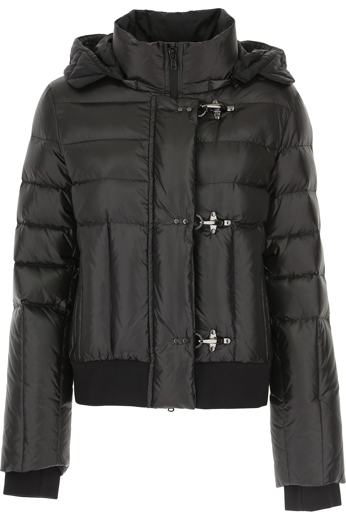 Fay Down Jacket for Women, Puffer Ski Jacket On Sale, Black, polyamide, 2019, 10 8