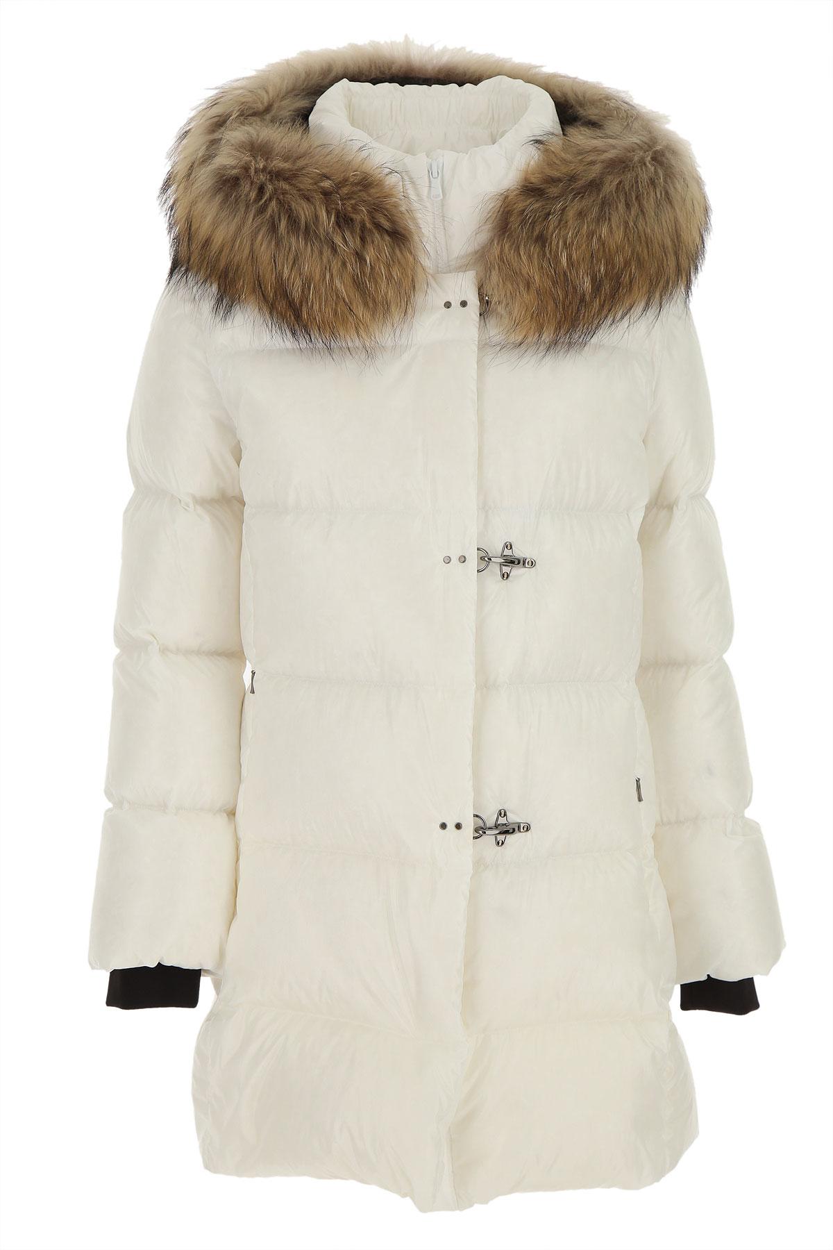 Fay Down Jacket for Women, Puffer Ski Jacket On Sale, White, polyamide, 2019, 2 4 6