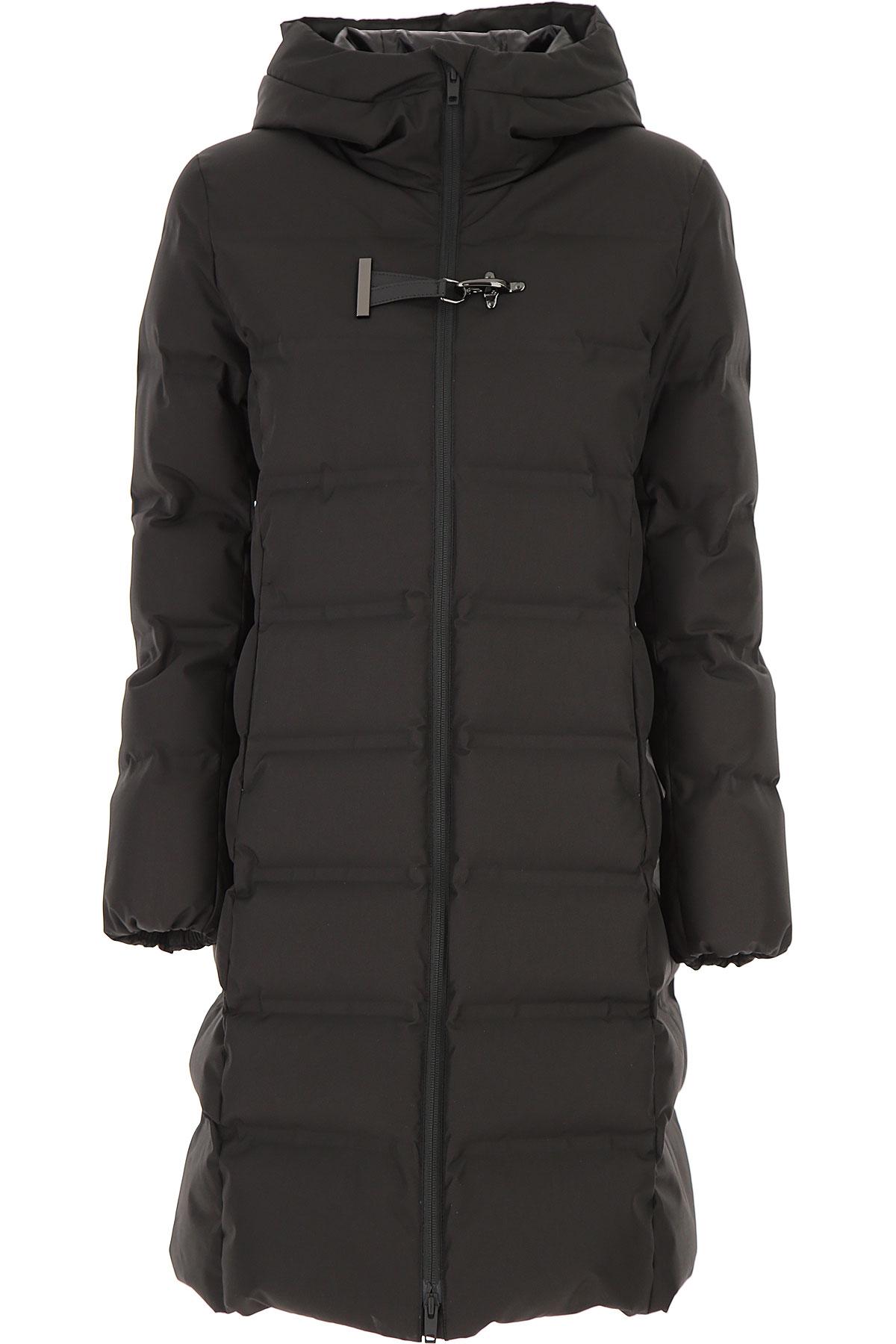 Fay Down Jacket for Women, Puffer Ski Jacket On Sale, Black, Down, 2019, 10 2 4 6 8