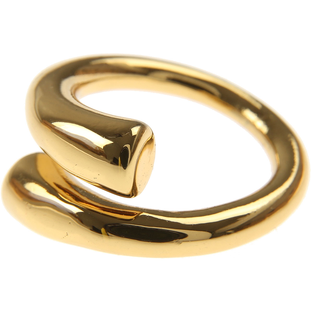 Federica Tosi Ring for Women On Sale, Gold, Silver Plated, 2019, One Size USA 7 ( I 15 - GB N 1/2)