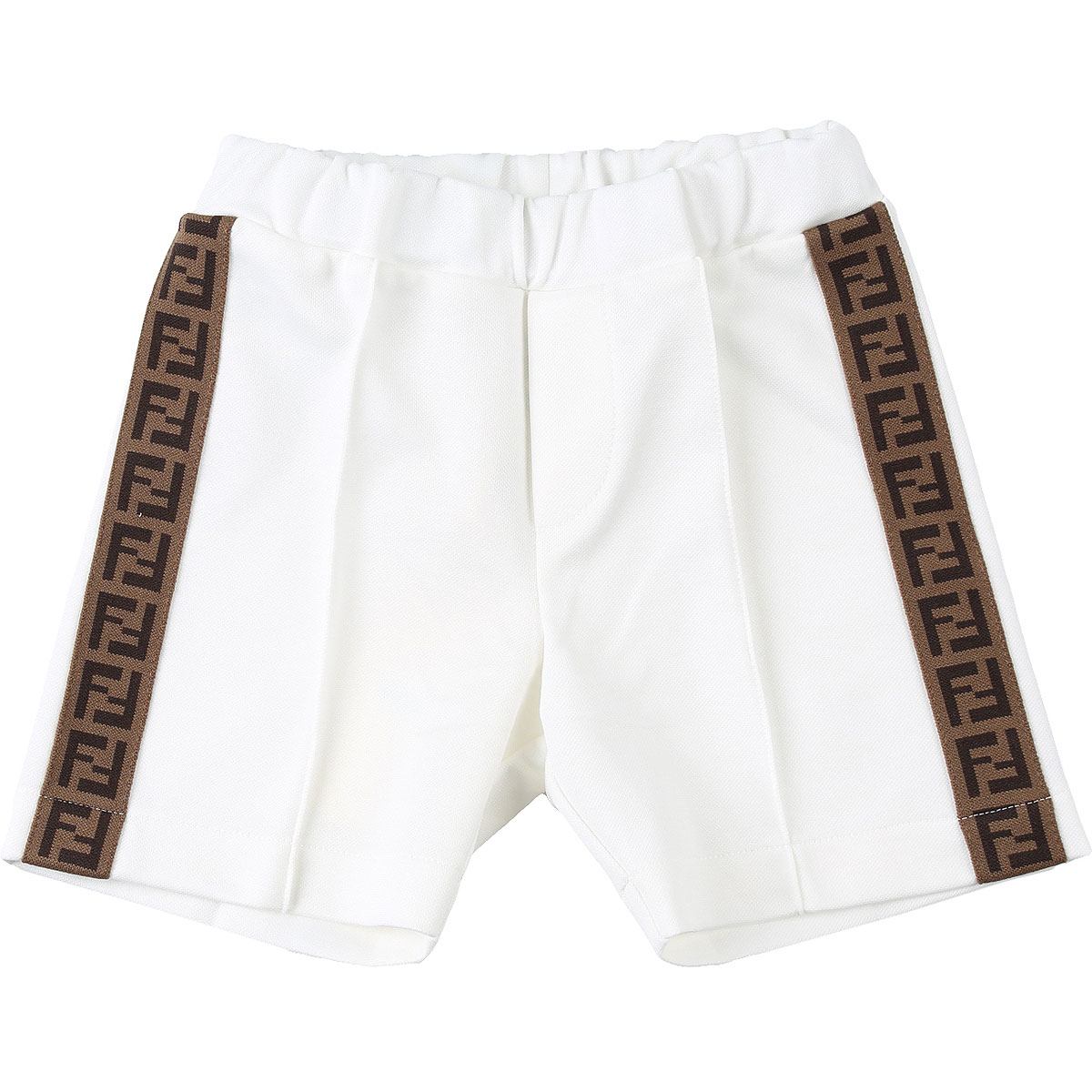 Fendi Baby Shorts for Boys On Sale, White, polyester, 2019, 12 M 6M