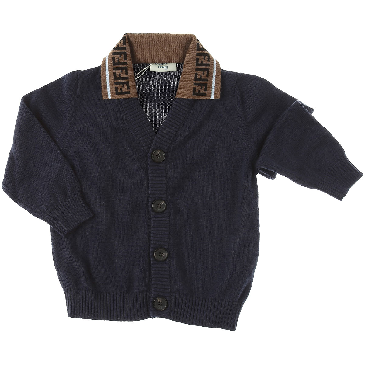 Fendi Baby Sweaters for Boys On Sale, navy, Cotton, 2019, 12 M 18M 2Y 6M