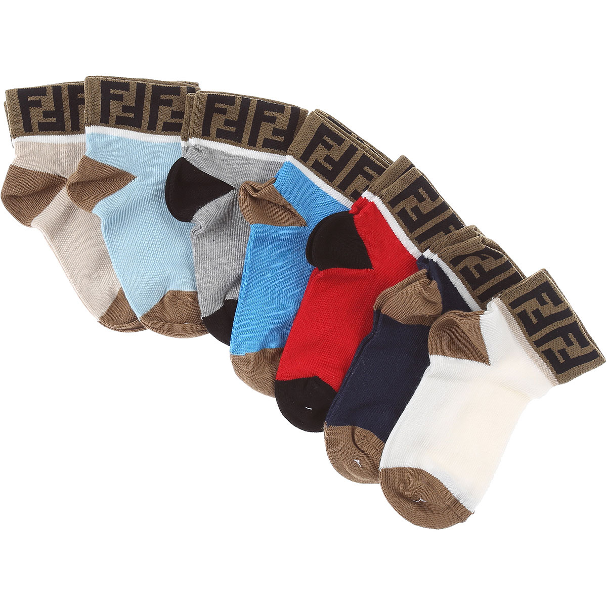 Fendi Baby Sets for Boys On Sale, Multicolor, Cotton, 2019, I II