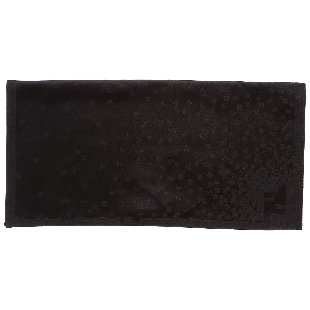 Image of Fendi Pouches On Sale, Black, Silk, 2017