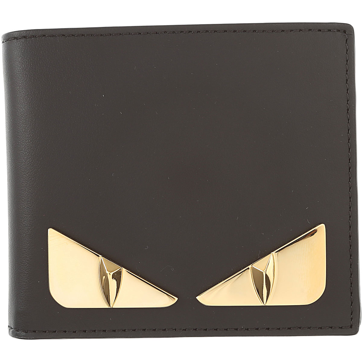 Image of Fendi Mens Wallets, Black, Leather, 2017