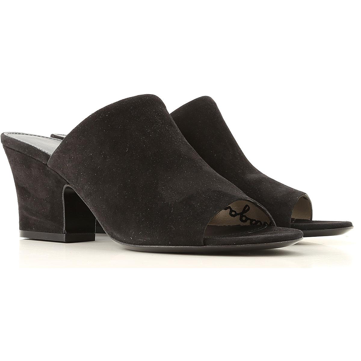 Salvatore Ferragamo Sandals for Women, Black, Suede leather, 2019, 5.5 6.5 8.5 9.5