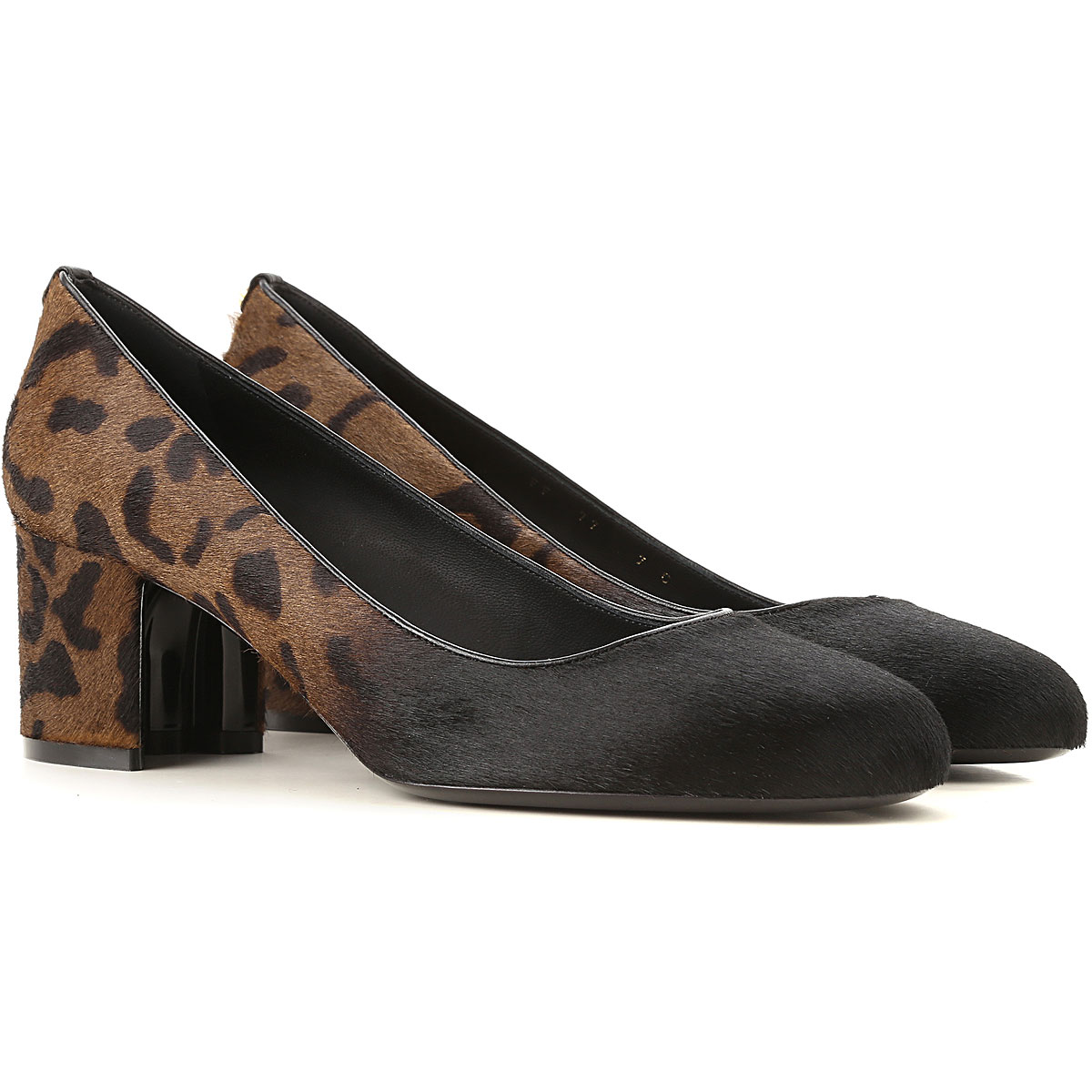 Salvatore Ferragamo Pumps & High Heels for Women On Sale in Outlet, Black, Leather, 2019, 5.5 6 7 9.5