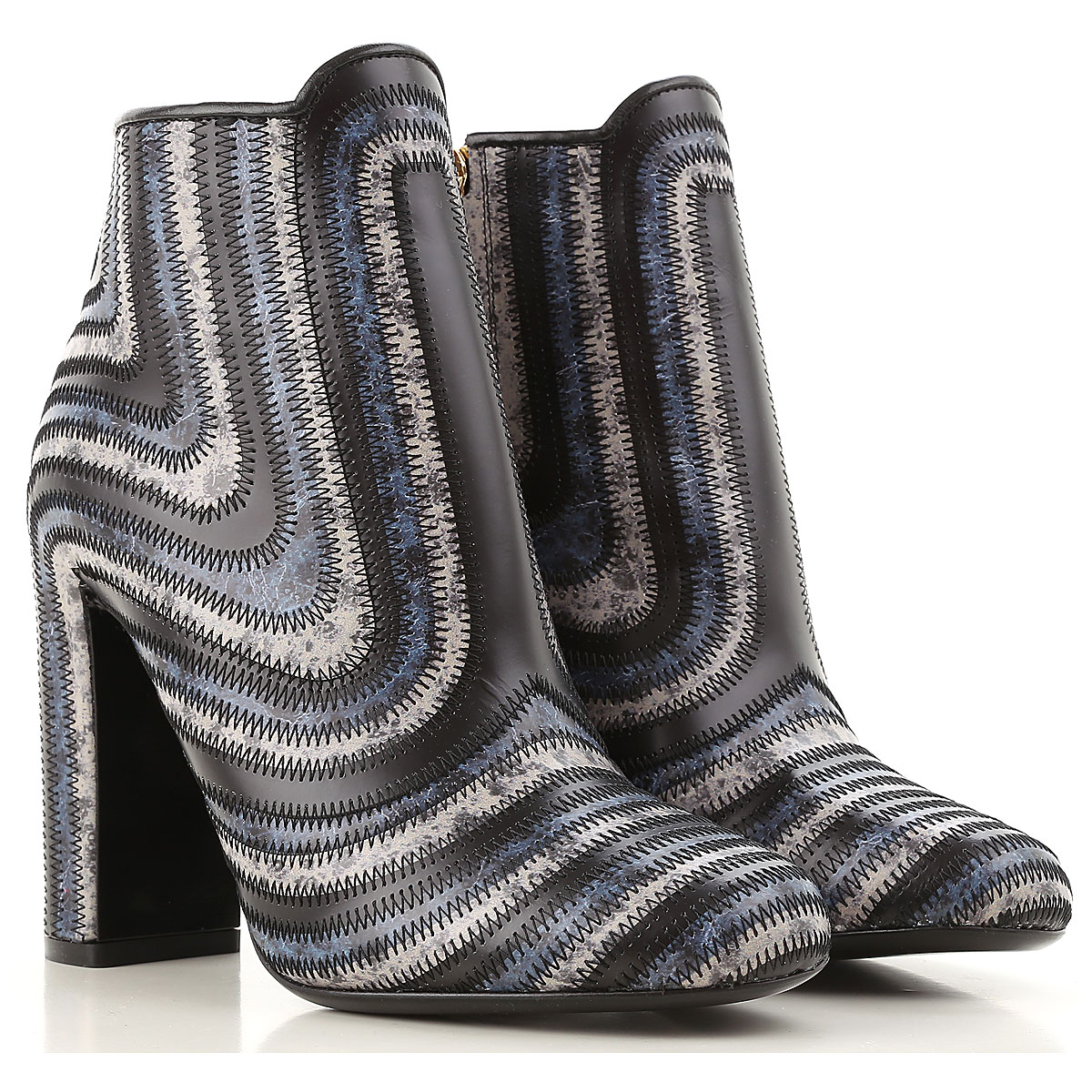Image of Salvatore Ferragamo Boots for Women, Booties On Sale in Outlet, Storm, Leather, 2017, 10.5 5.5 6.5 8.5 9.5