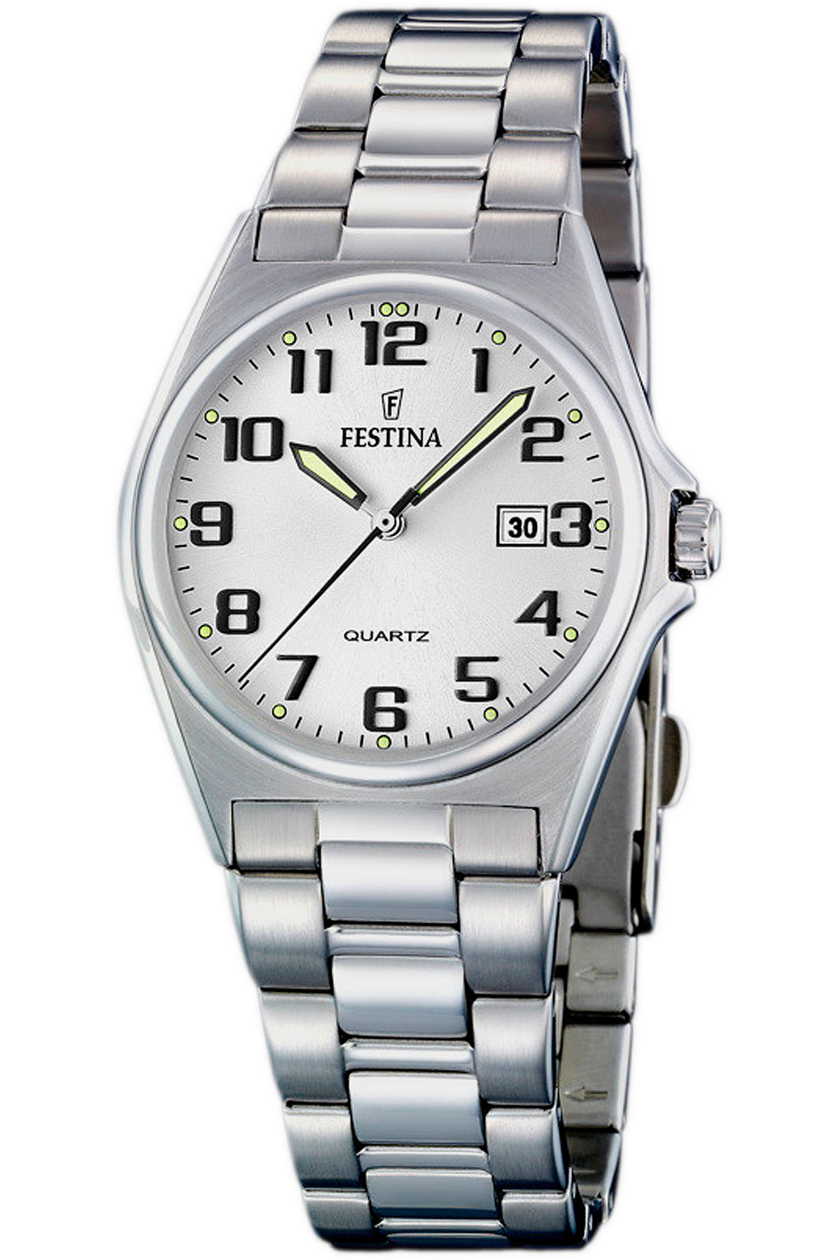 Festina Watch for Women, Silver, Stainless Steel, 2019