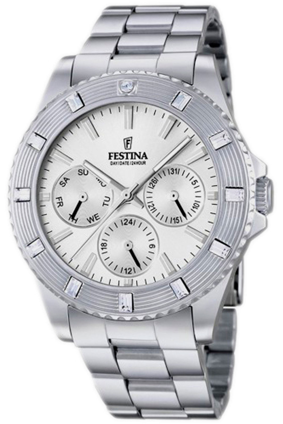 Festina_Watch_for_Women,_Silver,_Stainless_Steel,_2019
