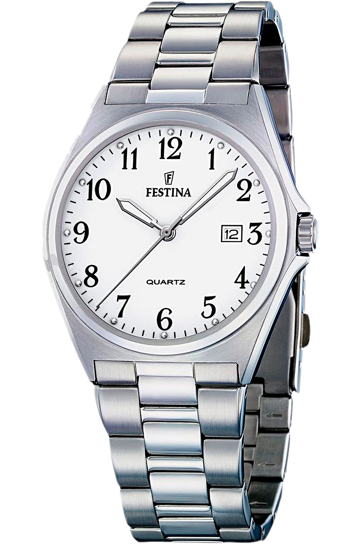 Image of Festina Watch for Men, Silver, Stainless Steel, 2017