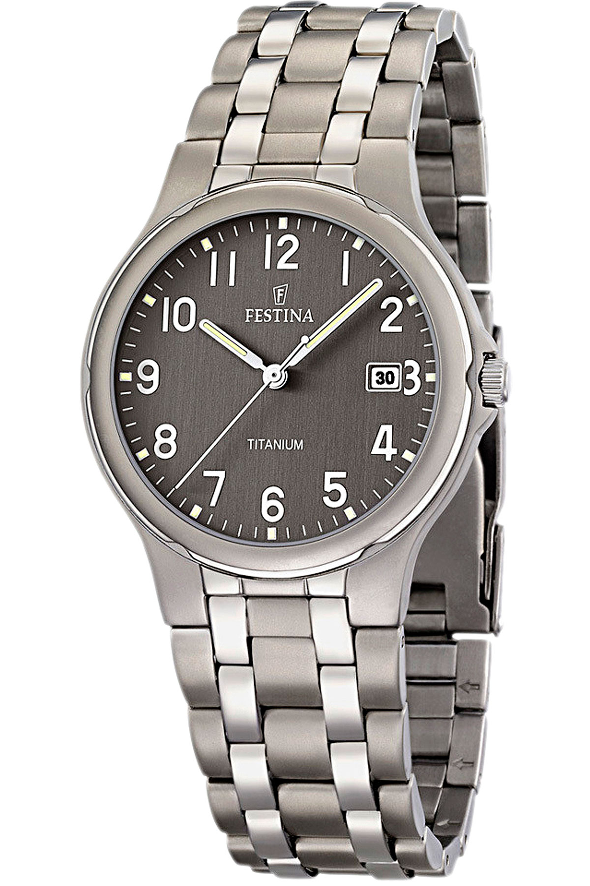 Image of Festina Watch for Men, Titanium, Stainless Steel, 2017