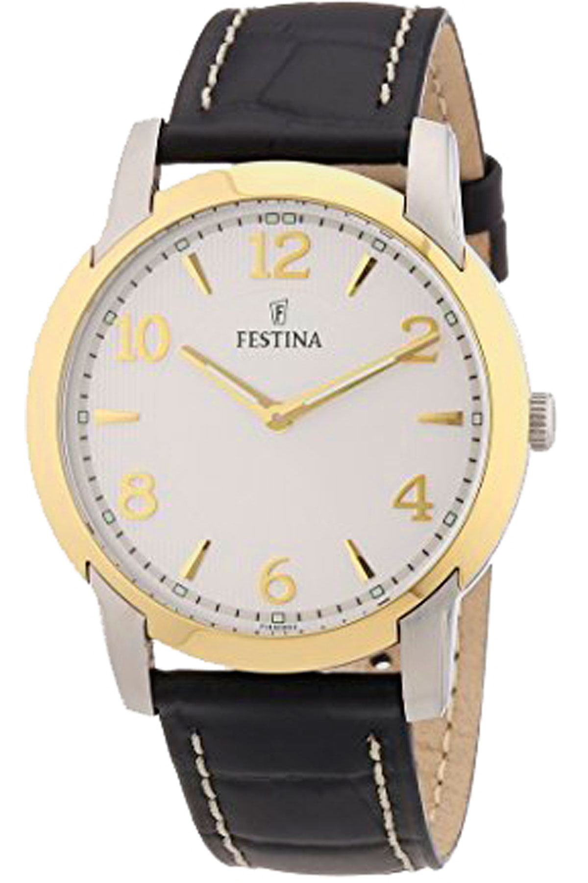 Image of Festina Watch for Men, Black, Stainless Steel, 2017