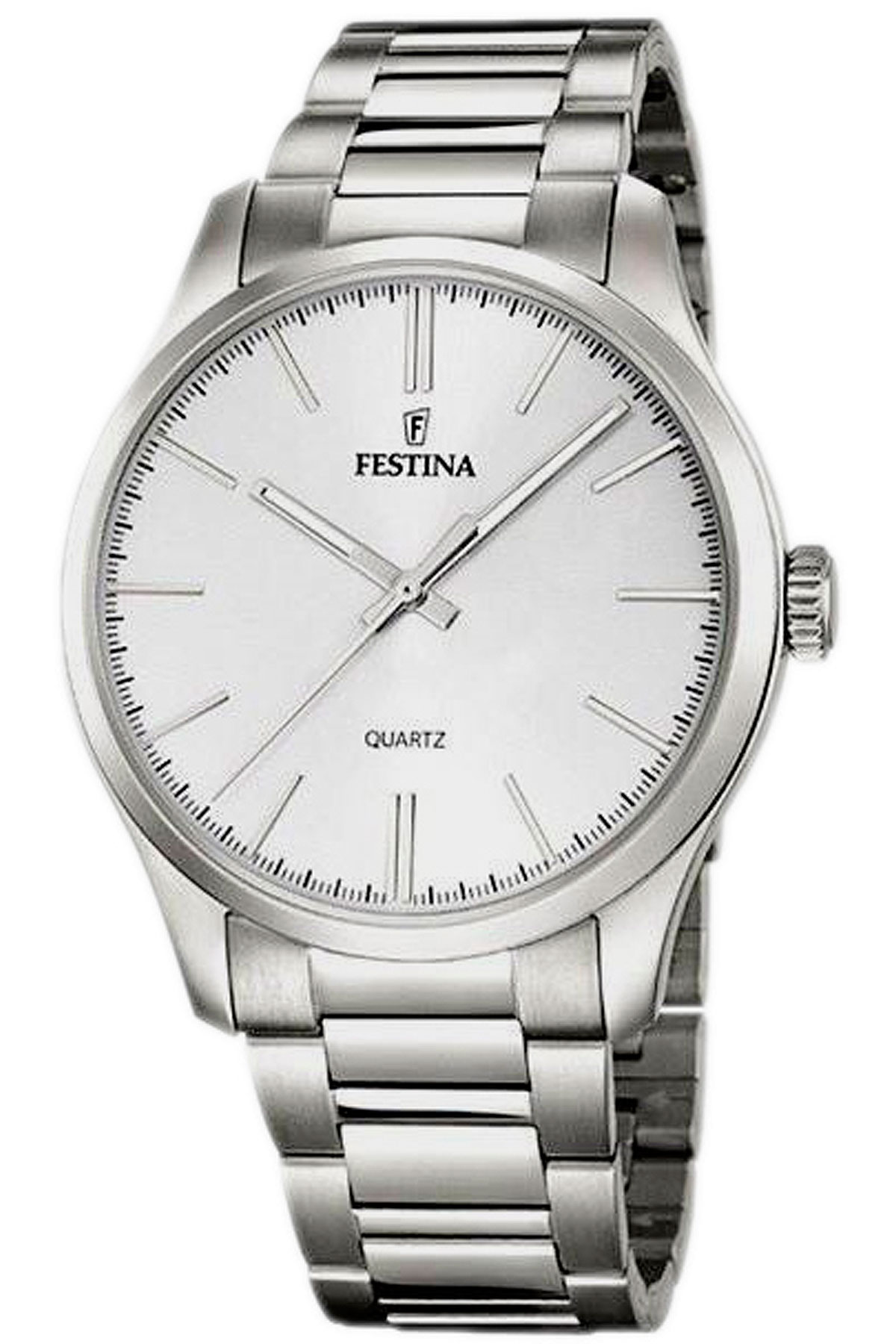 Image of Festina Watch for Men, Steel, Stainless Steel, 2017