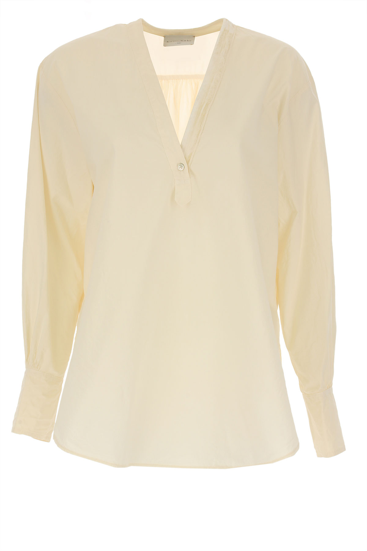 Forte Forte Shirt for Women, Ivory, Cotton, 2019, 1 - S - IT 40 2 - M - IT 42