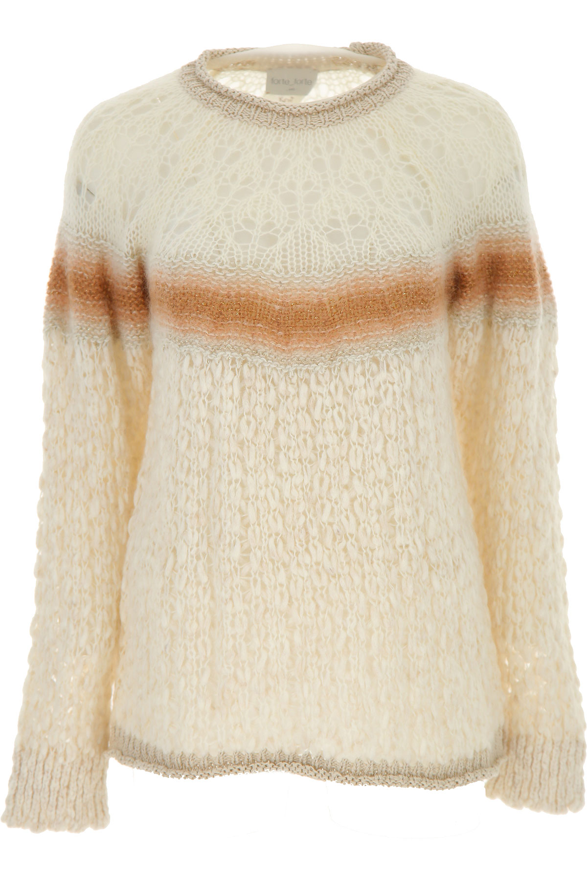 Forte Forte Sweater for Women Jumper On Sale, Natural, Mohair, 2019, 1 - S - IT 40 2 - M - IT 42
