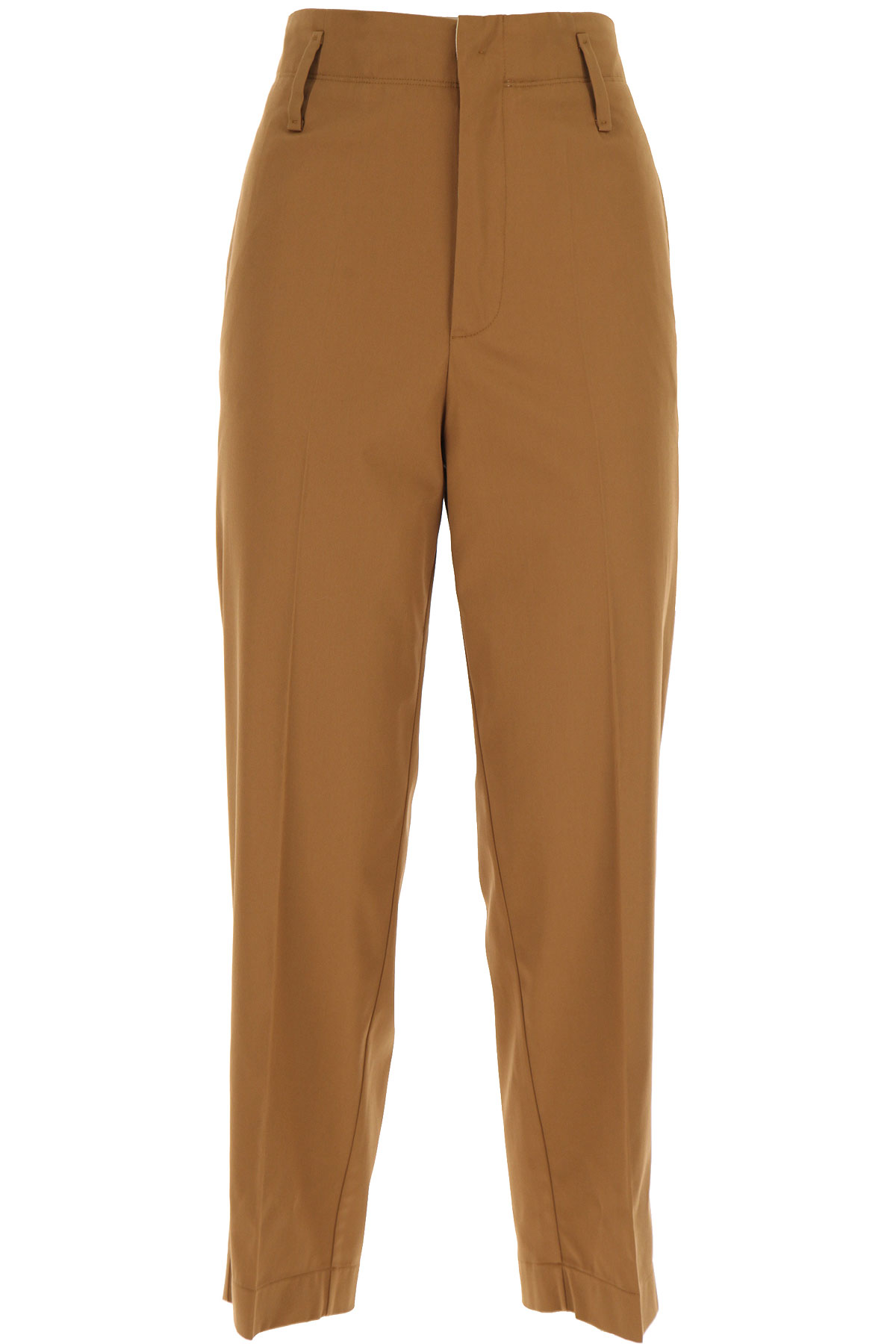 Forte Forte Pants for Women On Sale, Tobacco, Cotton, 2019, 0 - XS - IT 38 1 - S - IT 40 2 - M - IT 42