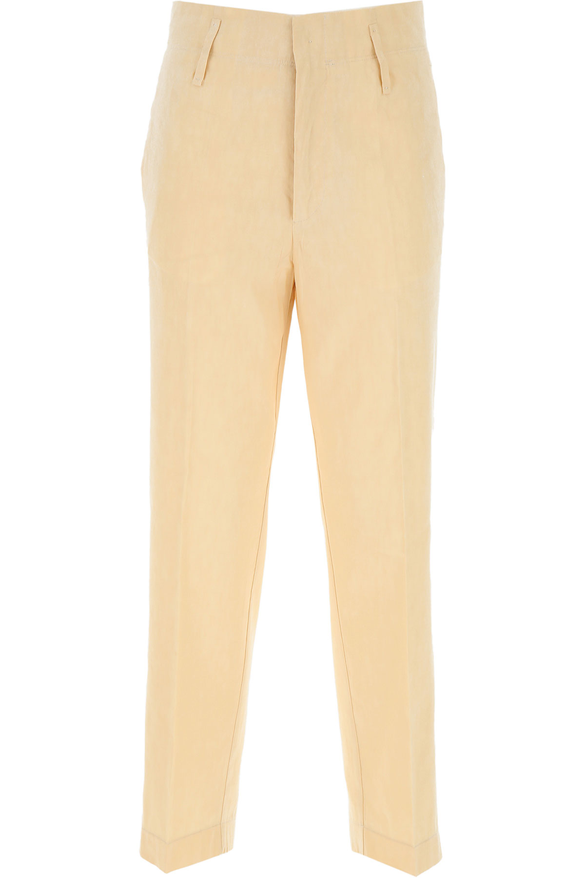 Forte Forte Pants for Women On Sale, Sand, Cotton, 2019