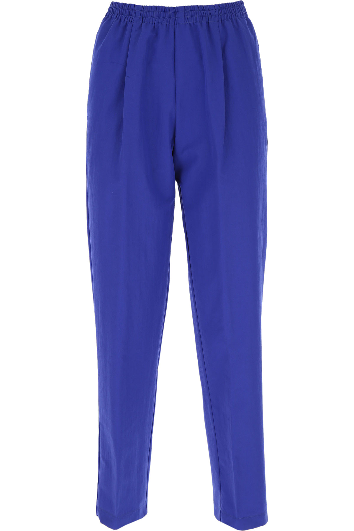 Forte Forte Pants for Women On Sale, Majorelle Blue, Cotton, 2019