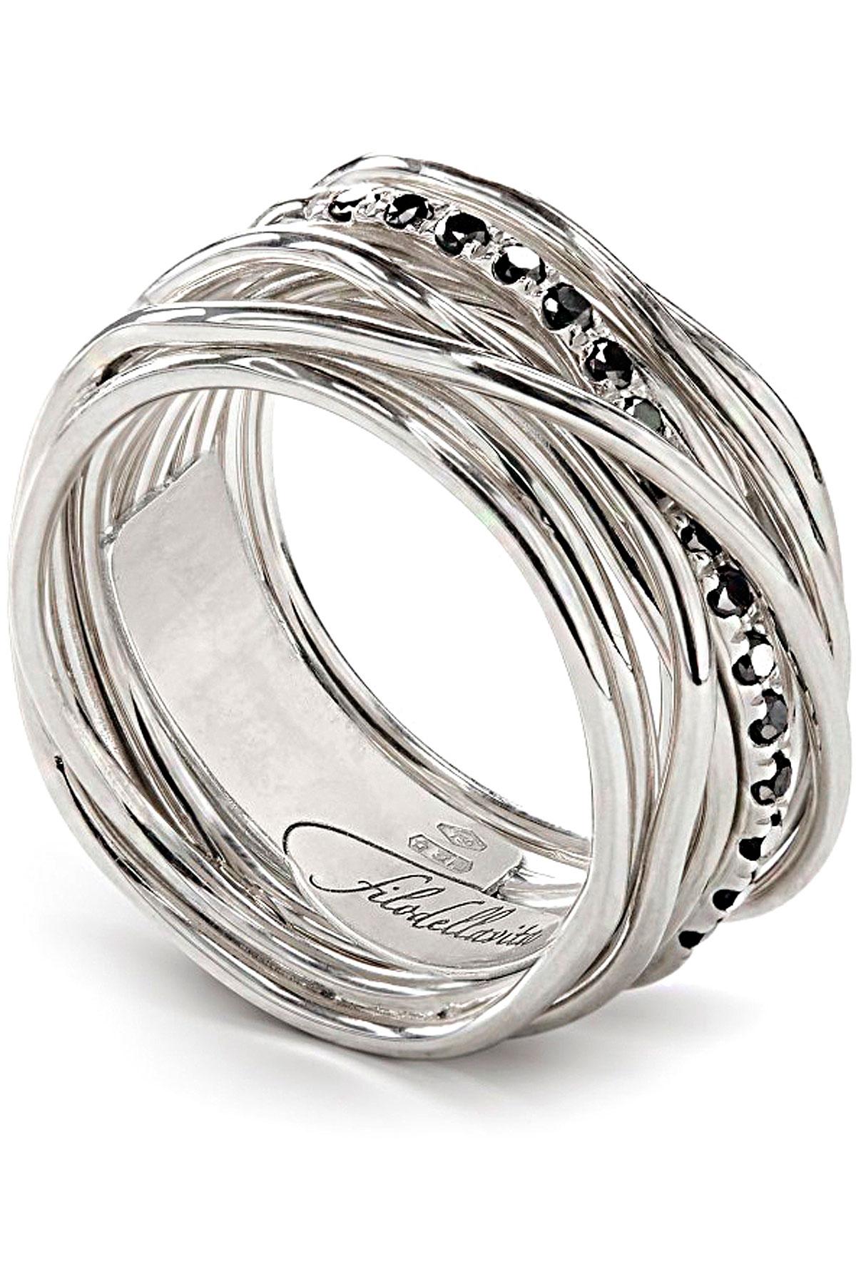 Filo Della Vita Ring for Women, Silver, Silver, 2019, USA 6 3/4 ( I 14 - GB N) USA 7 ( I 15 - GB N 1/2) USA 8 ( I 17 - GB P 1/2) USA 8 1/2 ( I 18 - GB