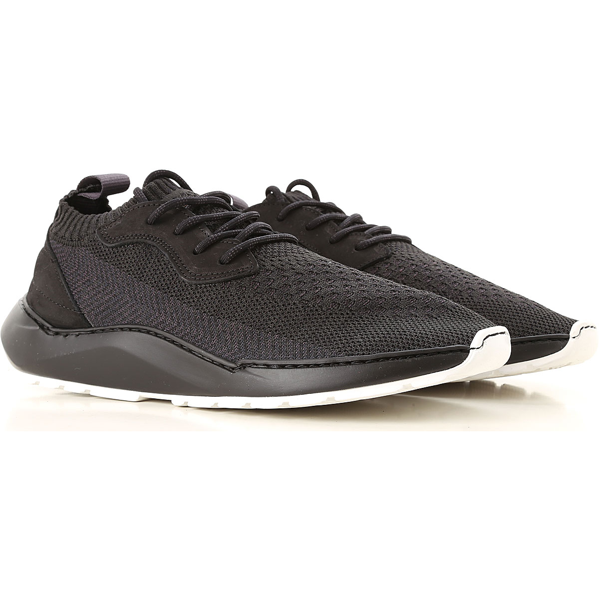 Image of Filling Pieces Sneakers for Men, Black, Knitted, 2017, 10 10.5 11.5 7.5 8 9