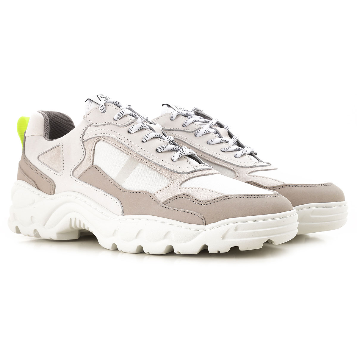 Image of Filling Pieces Sneakers for Men, White, Leather, 2017, 10 10.5 7.5 8 9