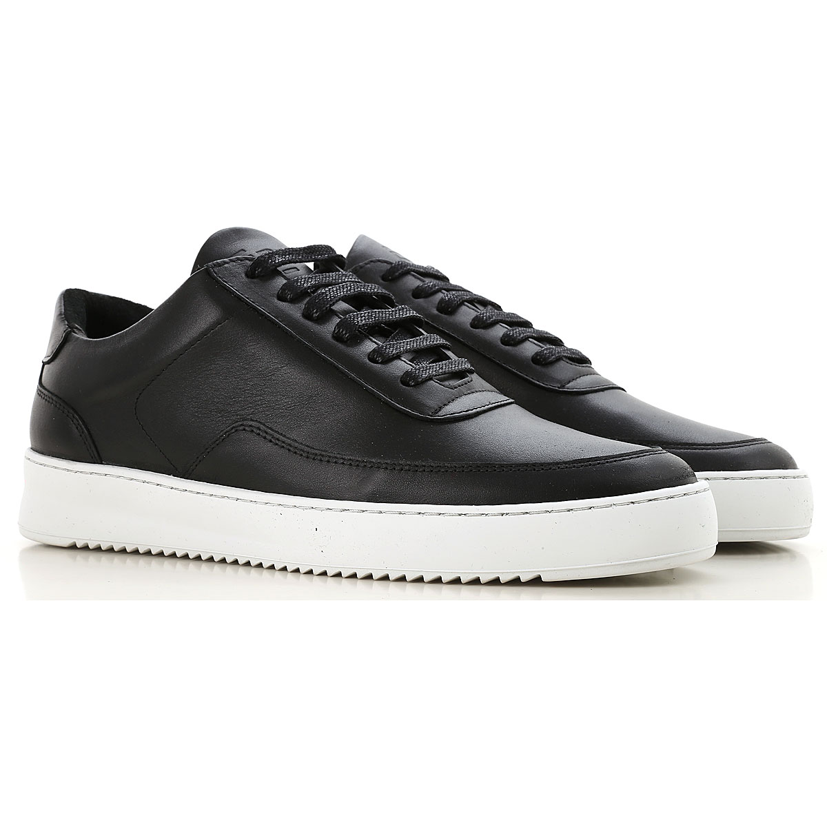Image of Filling Pieces Sneakers for Men, Black, Leather, 2017, 10 10.5 7.5 8 9