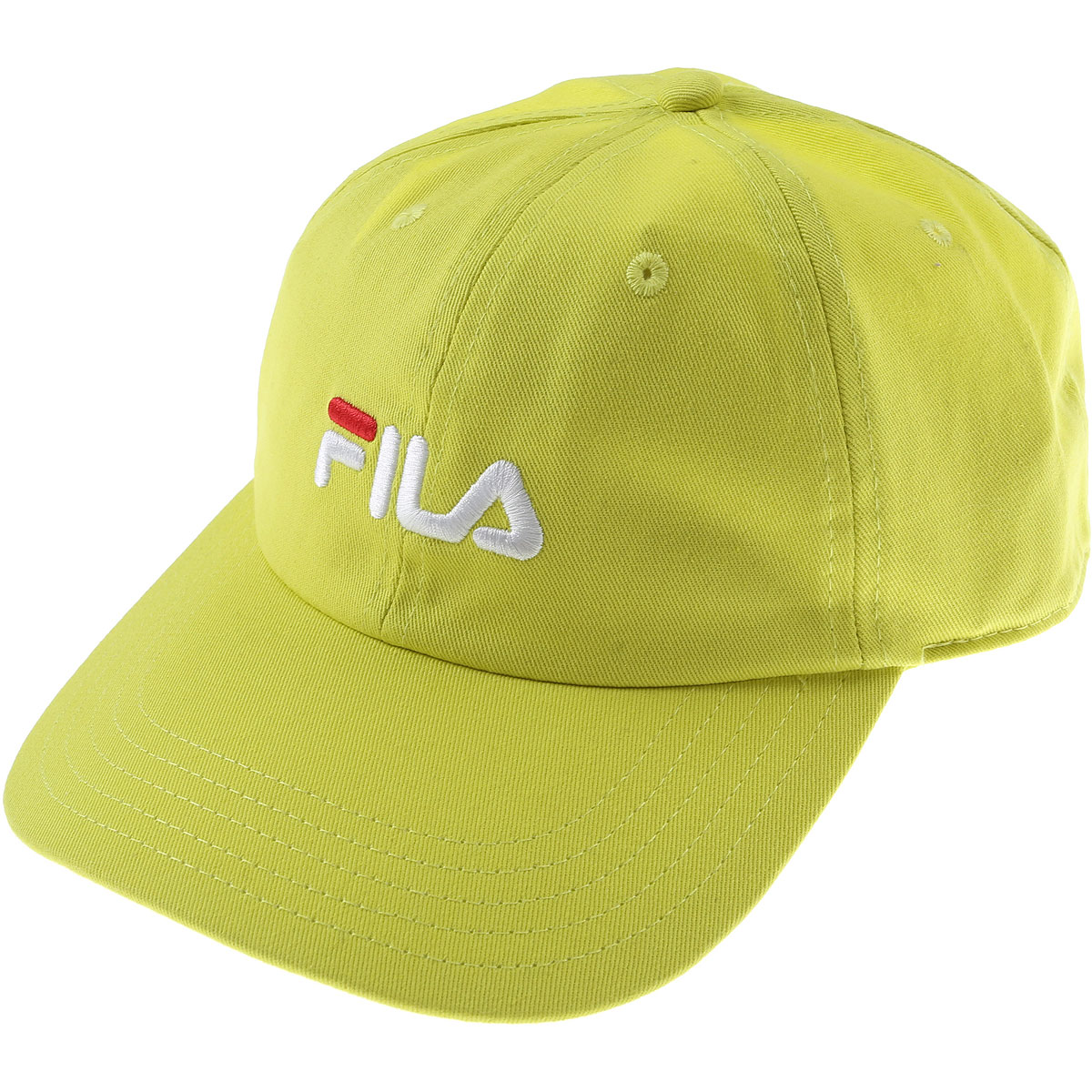 Fila Hat for Women On Sale in Outlet, fluo yellow, Cotton, 2019