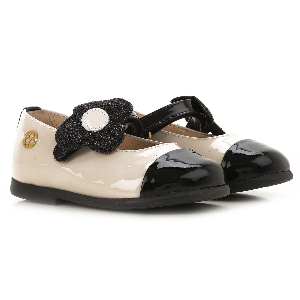 Florens Kids Shoes for Girls On Sale, Milk, Rubber, 2019, 18 19 20 21 22 23 24