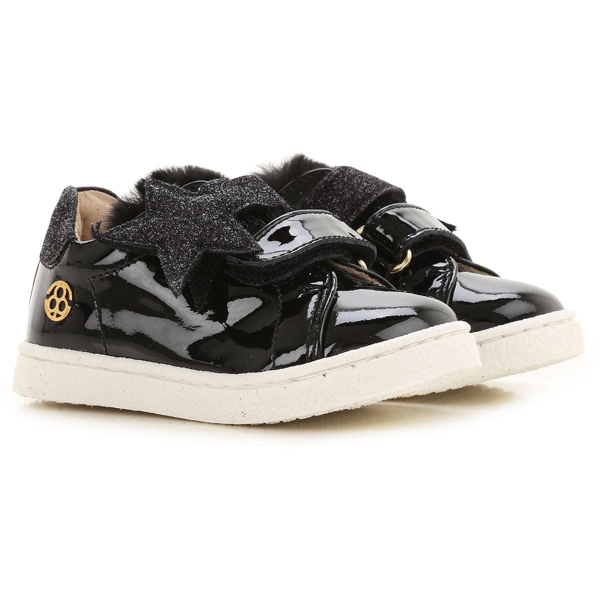 Florens Kids Shoes for Girls On Sale, Black, Rubber, 2019, 18 19 20 21 22 23 24
