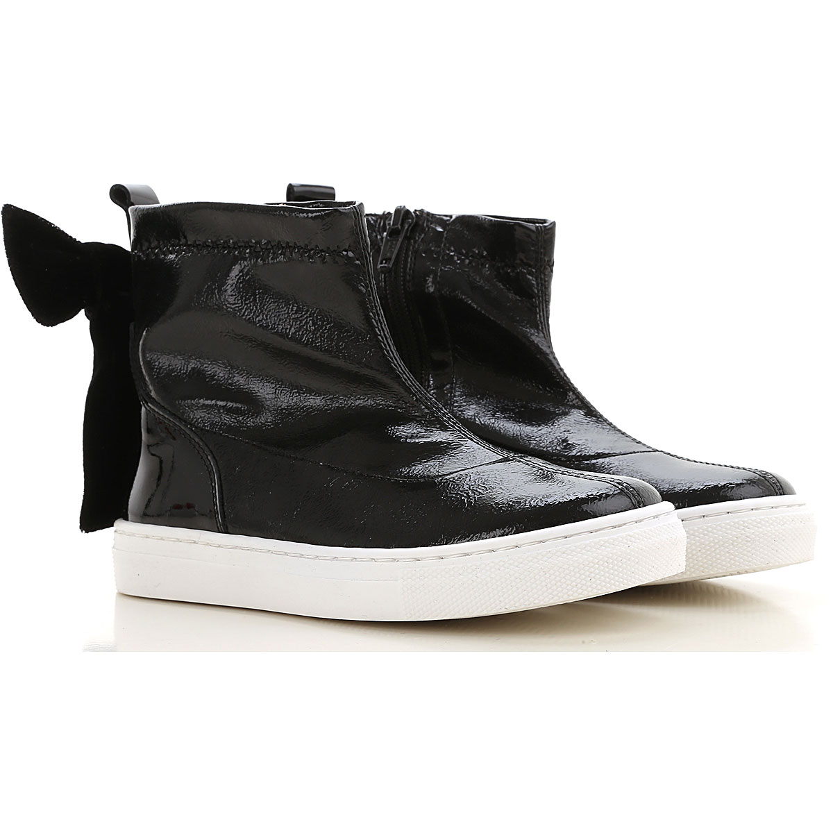 Florens Kids Shoes for Girls On Sale, Black, Leather, 2019, 20 21 22 23 24 25 26 27 28 29