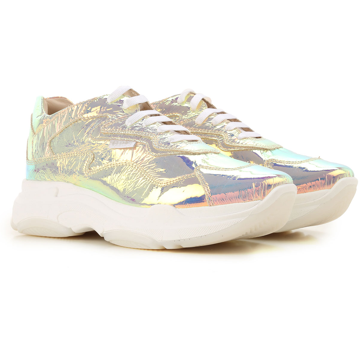 Florens Kids Shoes for Girls On Sale, Gold, Leather, 2019, 31 33 37
